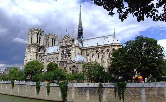 парижский собор Нотр Дам де Пари очередь