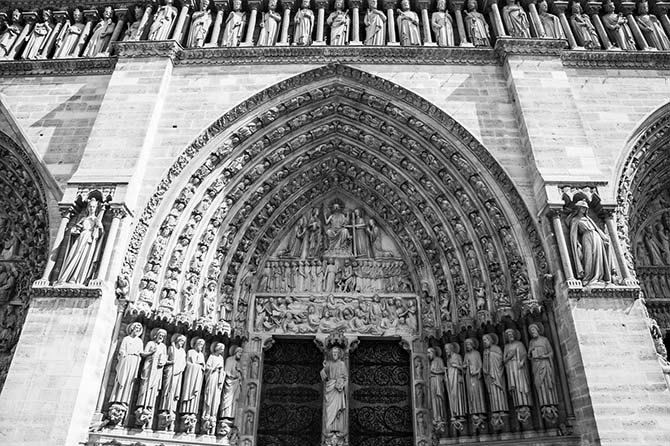 Собор Нотр Дам в Париже история