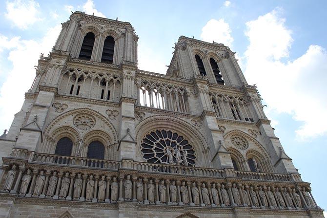 Парижский собор Нотр Дам интересные факты