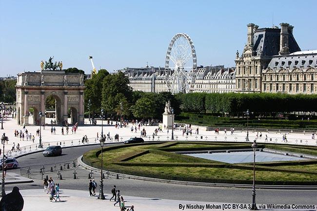 интересные места Парижа