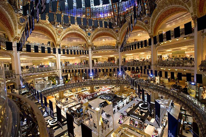 Париж самостоятельно советы шопинг