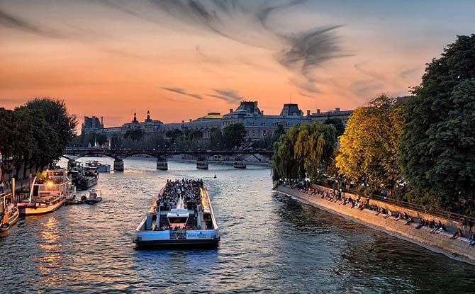 самостоятельное путешествие в Париж