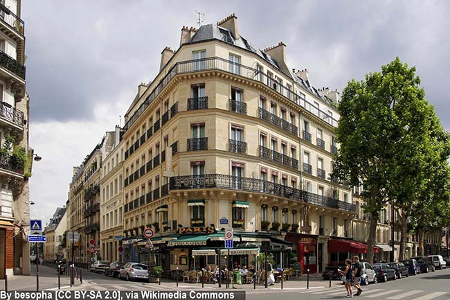 бульвары Парижа достопримечательности на карте
