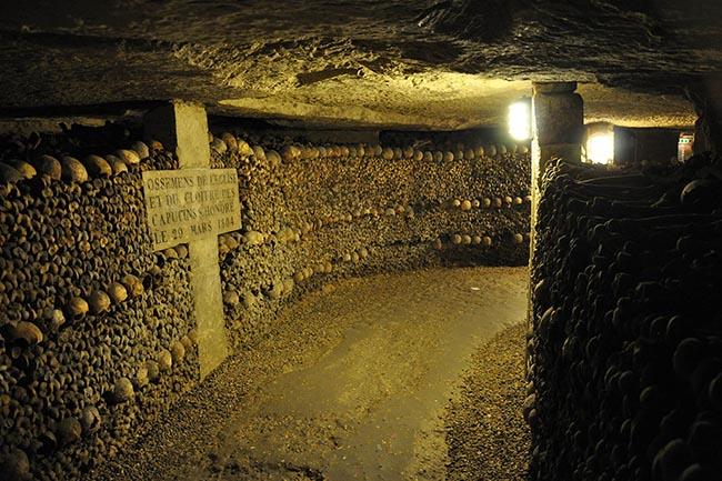 катакомбы Парижа интересные места