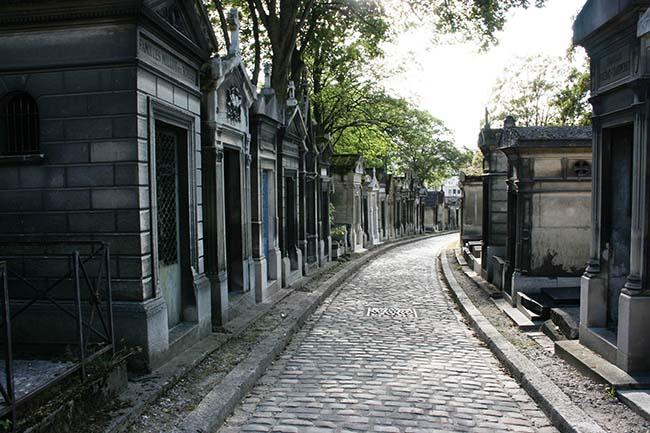 неизвестный Париж кладбище Пер Лашез