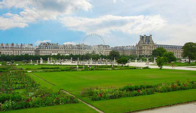 6 дней в Париже маршруты