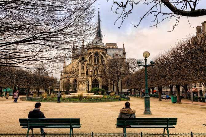 7 дней в Париже маршруты