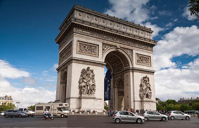 где погулять в Париже красивые улицы