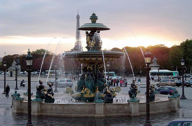 Интересные места и улицы Парижа