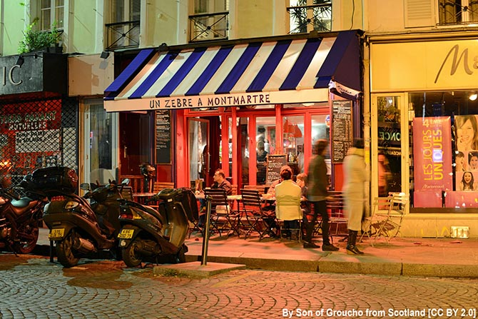 где погулять на Монмартре улицы Парижа