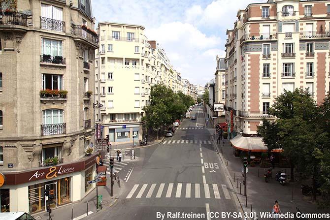 самые красивые улицы Парижа путеводитель