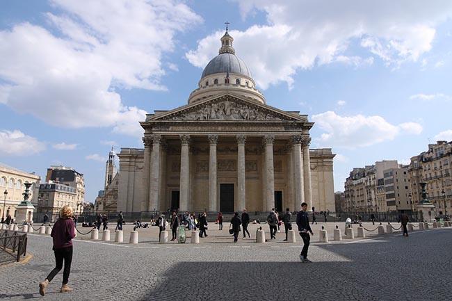 Пантеон в Париже аудиогид
