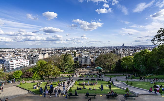 Самые красивые улицы и площади Парижа
