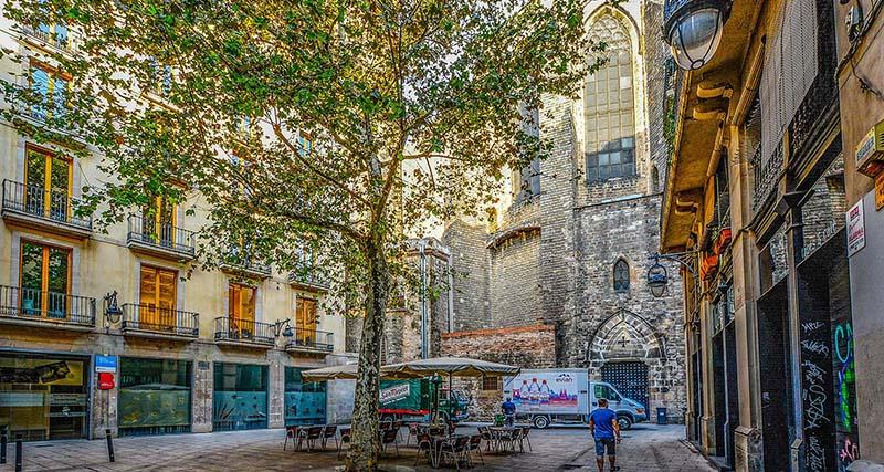 Барселона Готический квартал и Рамбла