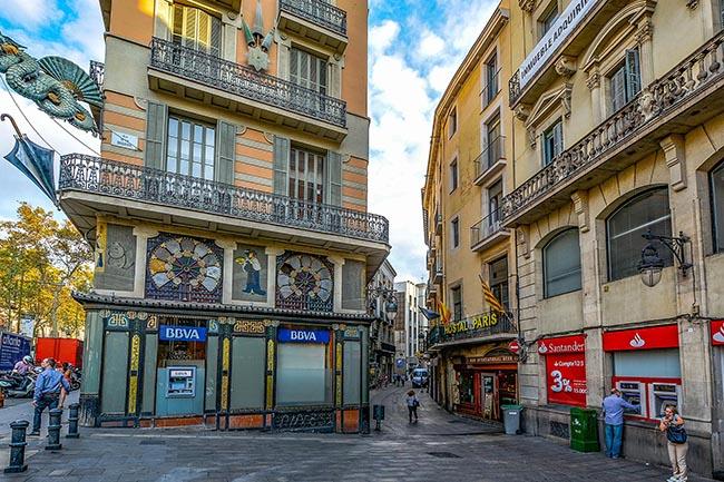 интересные достопримечательности Барселоны Рамбла