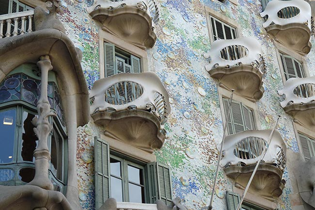 Дом Бальо Барселона Гауди