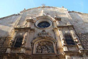 Рамбла Барселоне - церковь