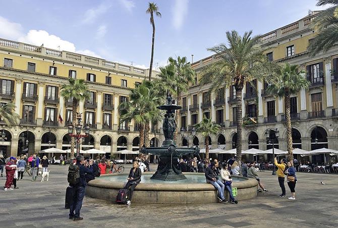 куда поехать весной Барселона