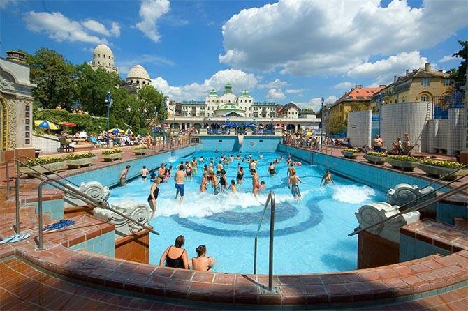 лучшие купальни Будапешта