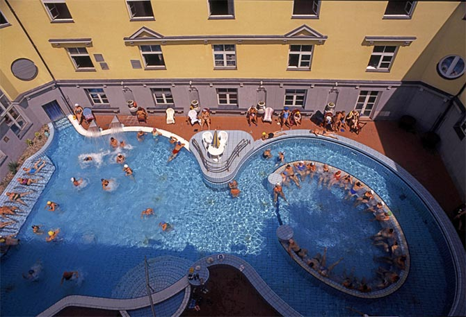 лучшие купальни в Будапеште