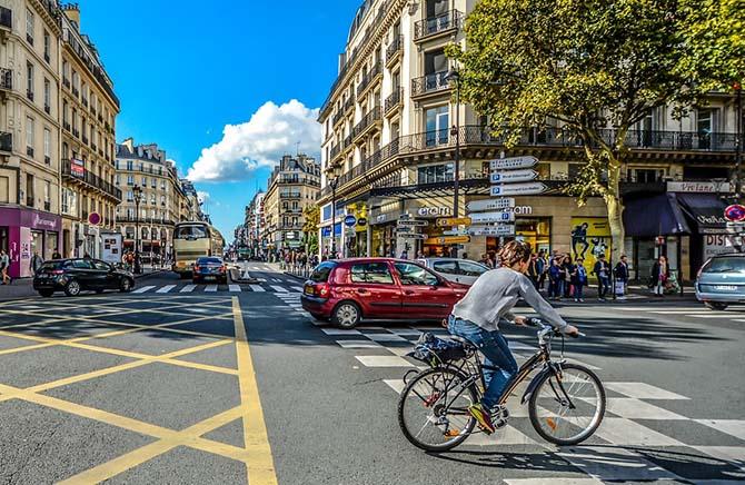 Париж недорого
