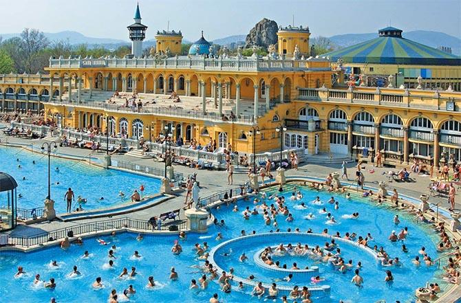 Будапешт купальни