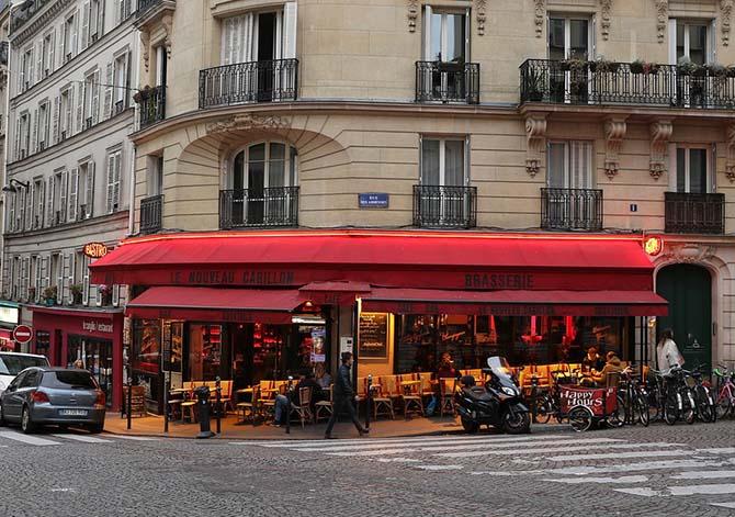 брассери и кафе Париж где поесть