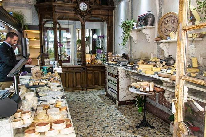 французская кухня в Париже