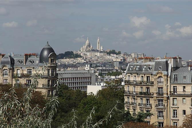 Париж с высоты обзорные площадки