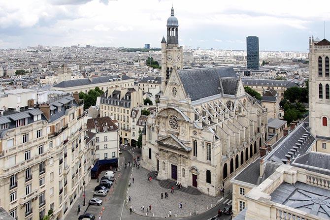 откуда лучшие виды Парижа