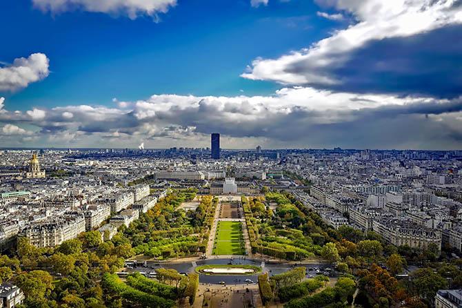 Смотровые площадки Парижа - Эйфелева