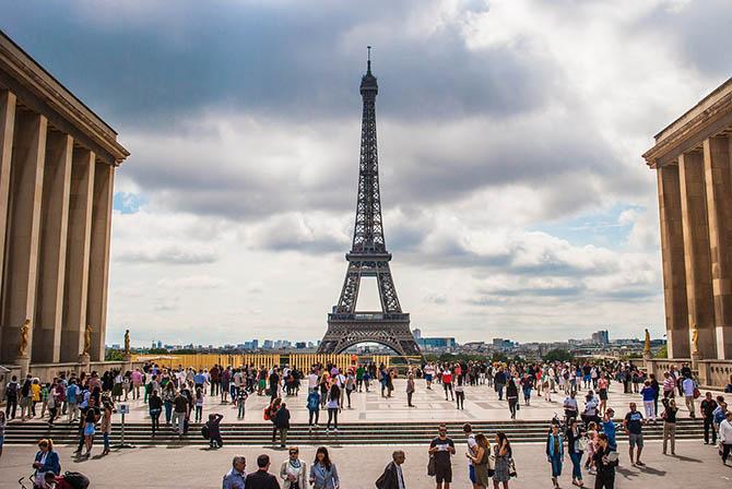 виды Парижа