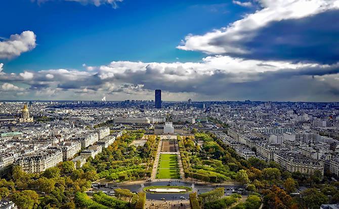 смотровые площадки Парижа - лучшие виды