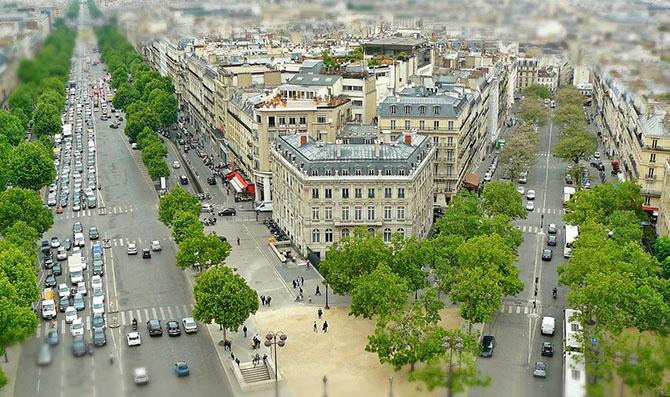 смотровые площадки - виды Парижа