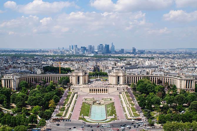 Смотровые площадки Парижа - виды Парижа