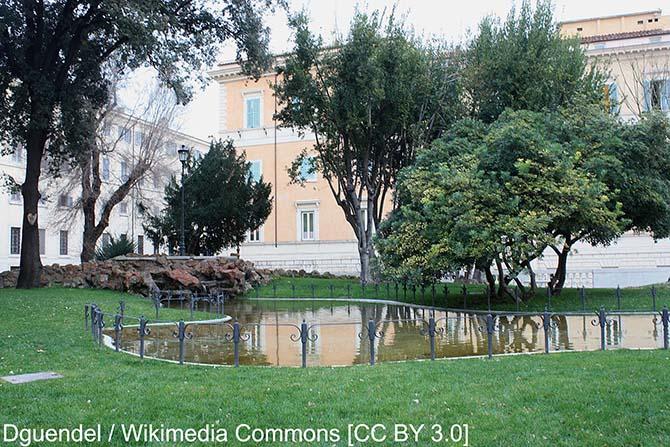 Рим парки и виллы