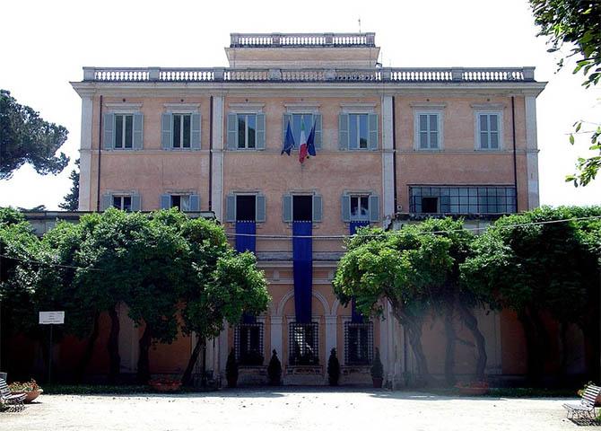 парки Рима природа