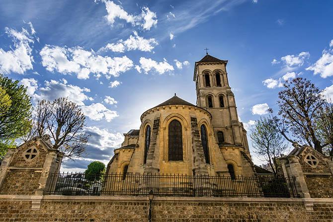 базилика на Монмартре Париж