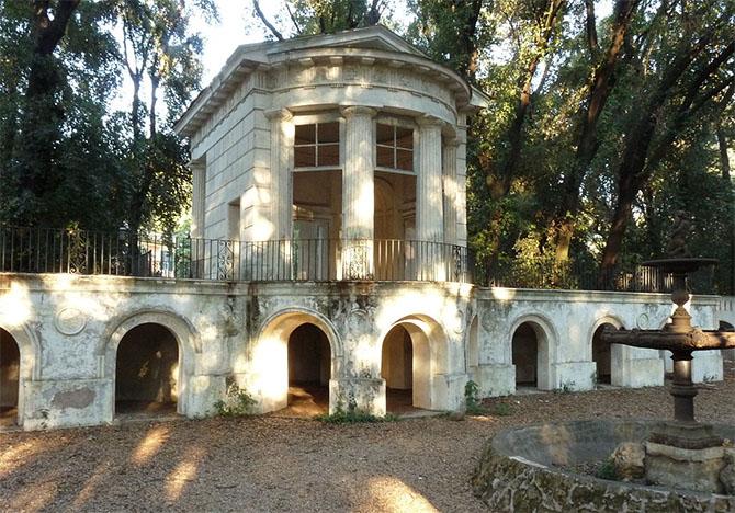 самые красивые парки Рима