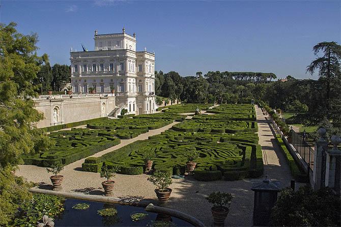 парки и сады Рима