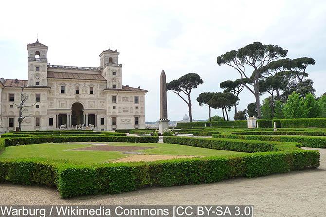 лучшие сады и парки Рима