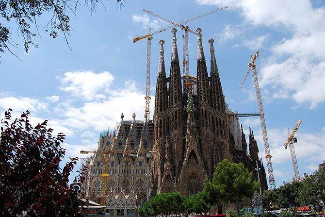 Саграда Гауди и Барселона