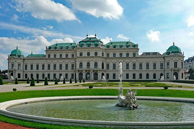 Вена музей картин Бельведер