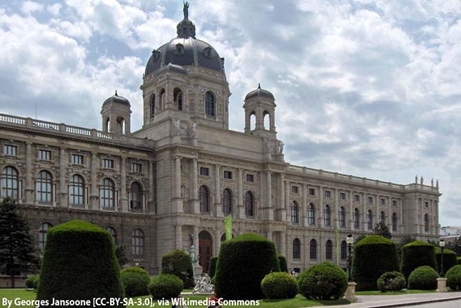 Вена музей истории искусств
