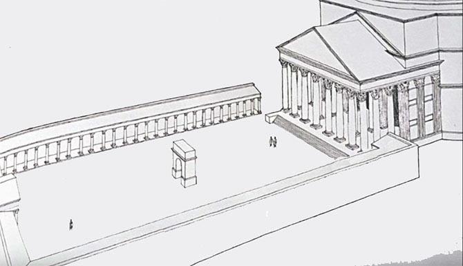 древний римский Пантеон