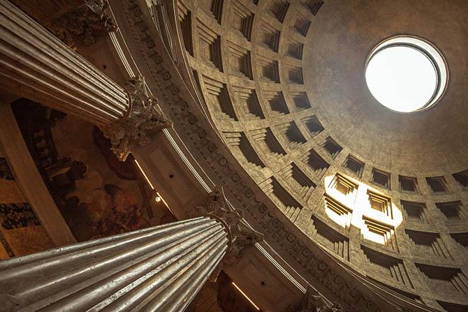 Пантеон Рим интересные факты