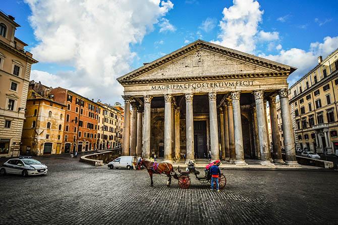 архитектура римского Пантеона