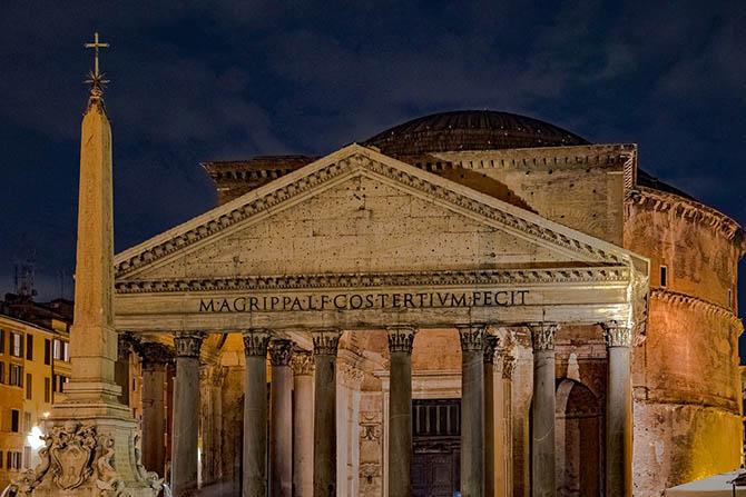 история Пантеона в Риме