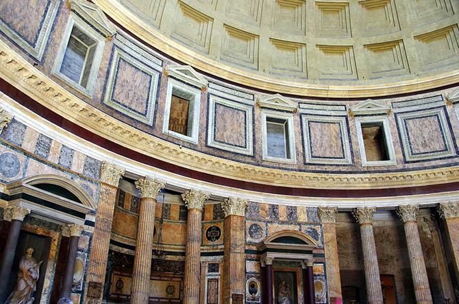 Пантеон архитектура