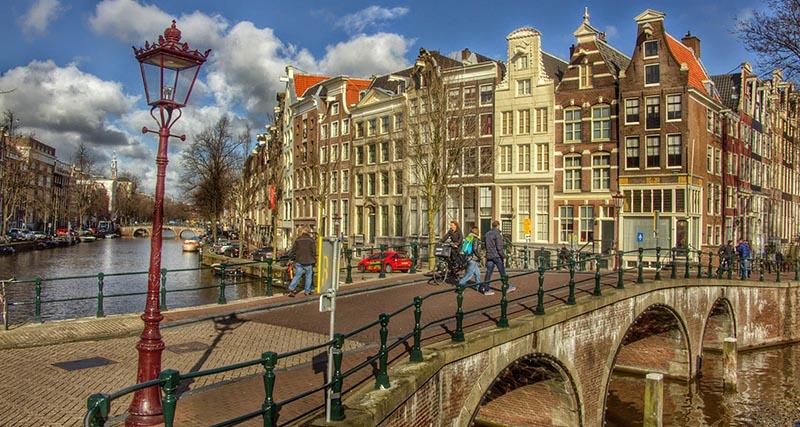 каналы Амстердама маршрут